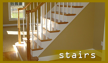 Building stairways and railings